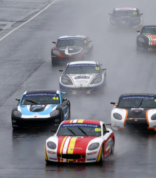 Stoney Ginetta Gt5 2018 Knockhill Race 2 1
