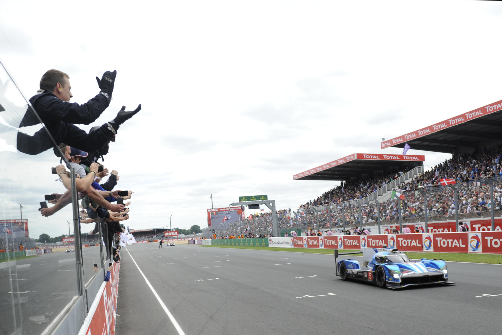 Ginetta Celebrate Result In The 24 Hours Of Le Mans 2018