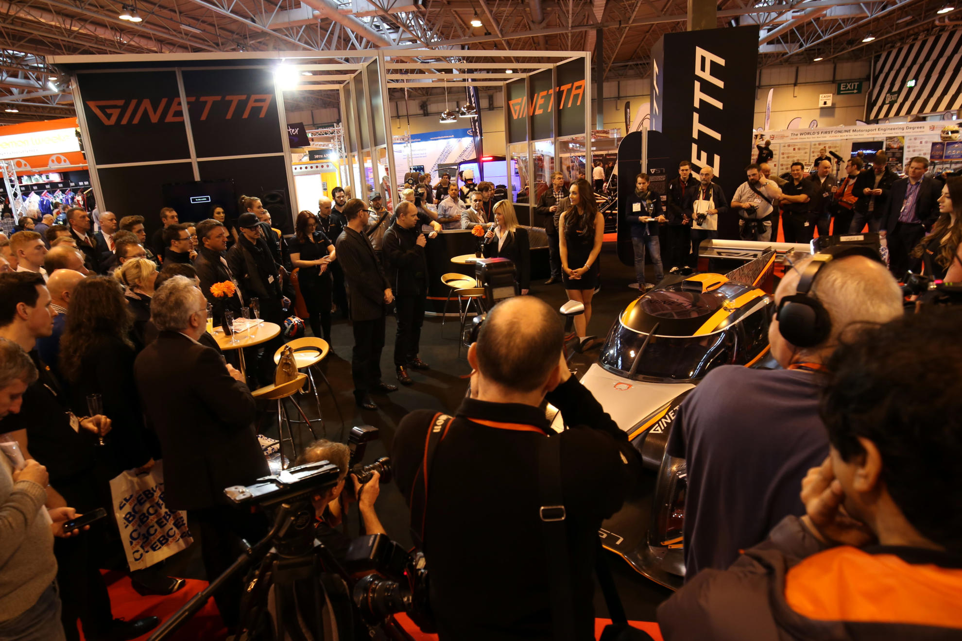 We're Unveiling The Ginetta LMP1 At Autosport International