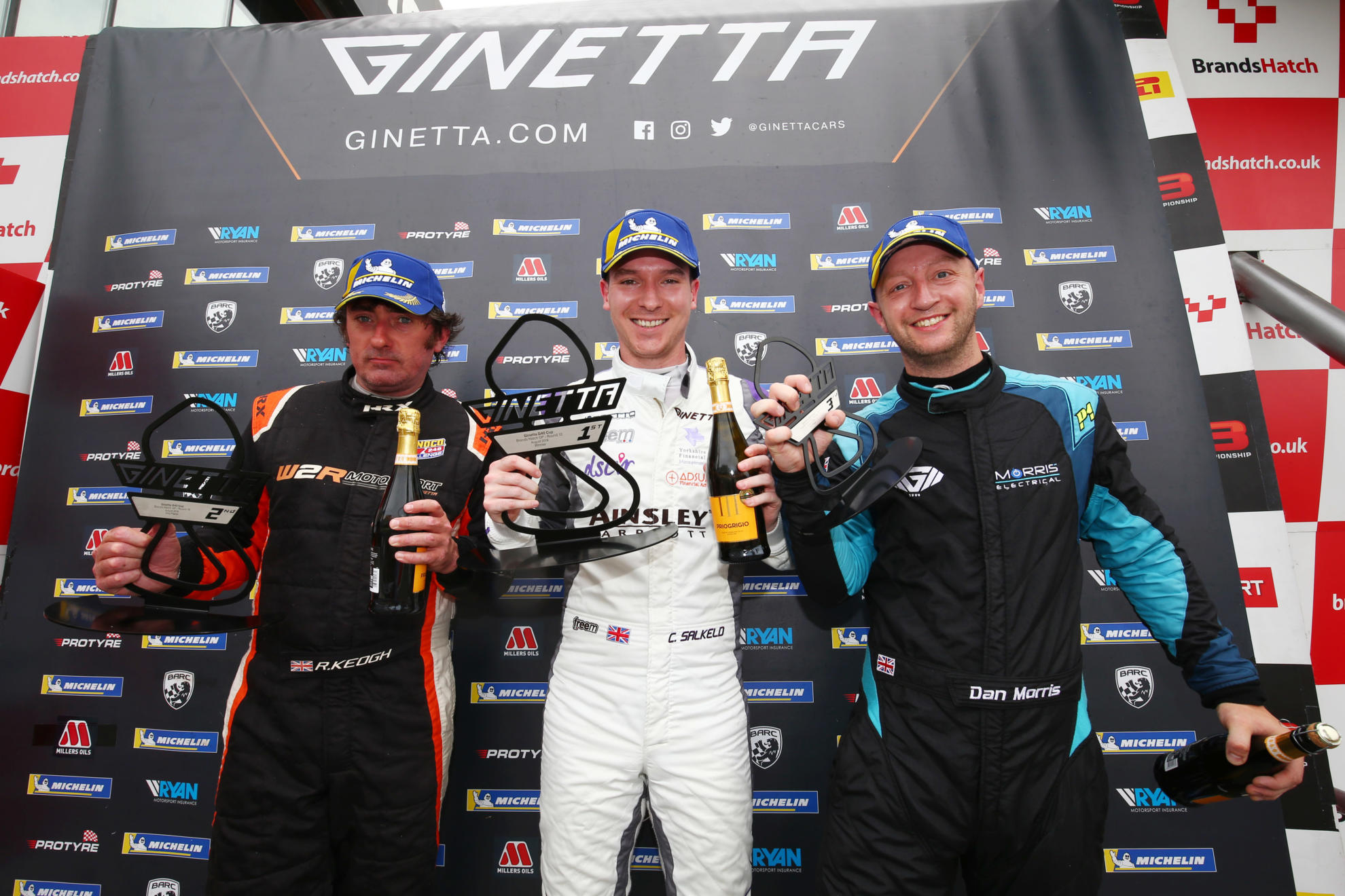 Preview: Ginetta G40 Cup, Round Six, Donington Park