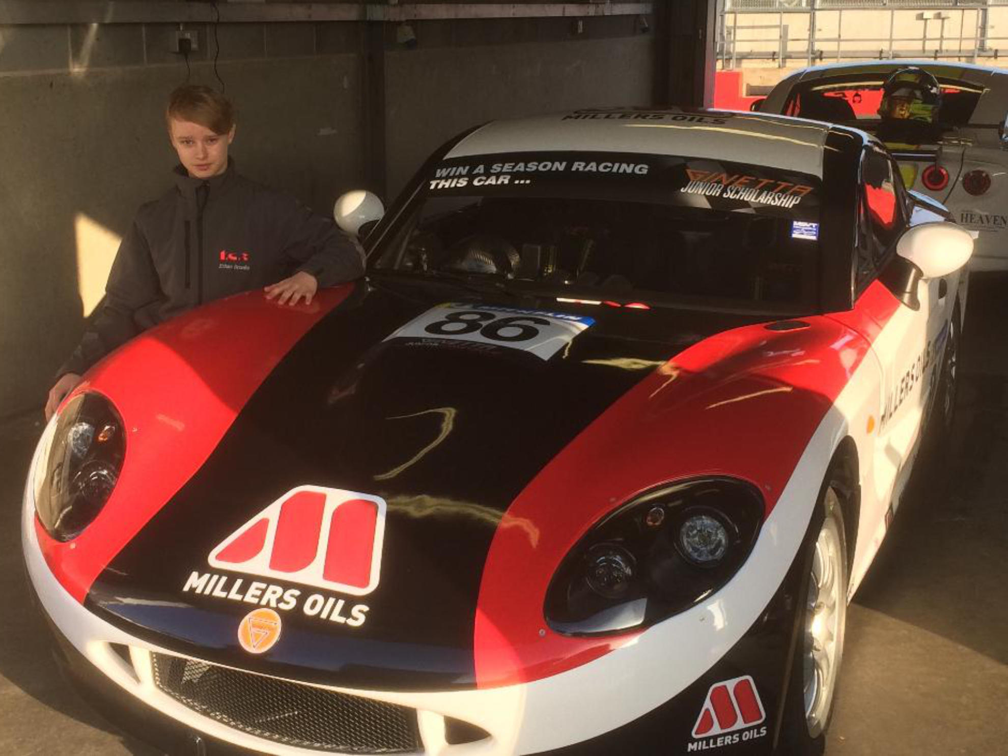 Ginetta Junior Scholarship Winner Ethan Brooks Signs With TCR
