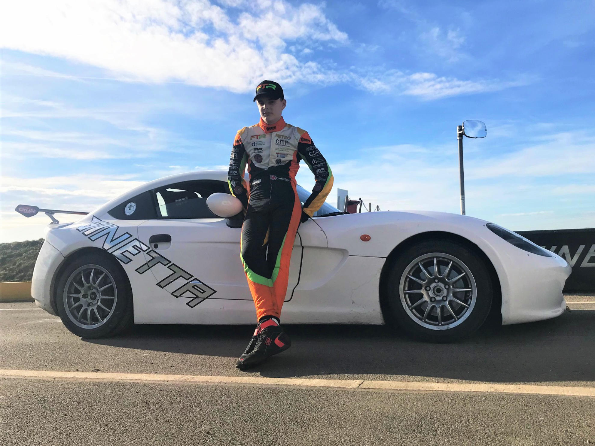 Frankie Taylor Signs Up For Rookie Michelin Ginetta Junior Championship Season