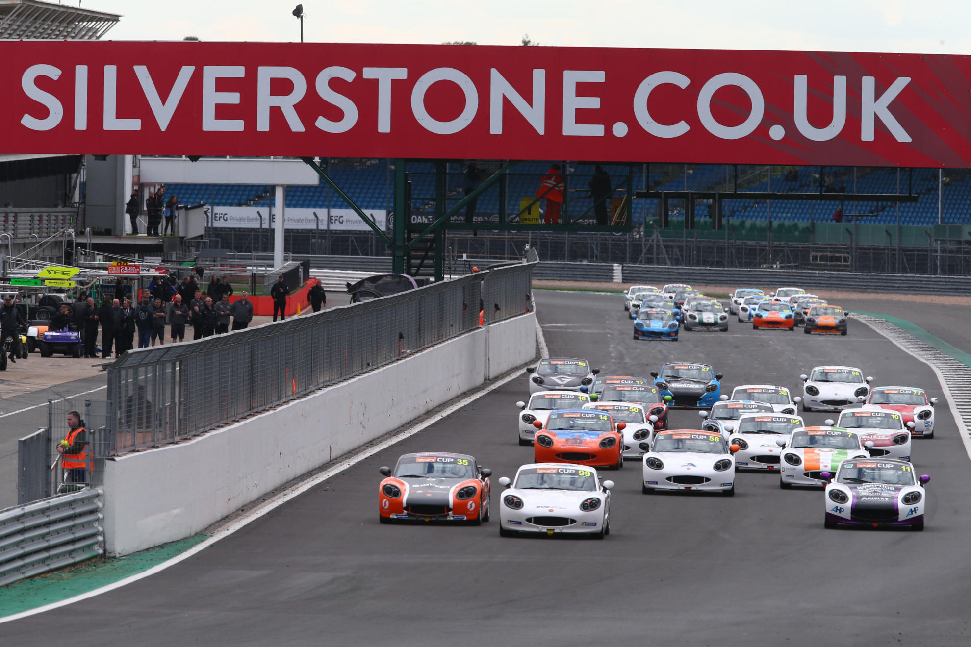 Keogh And Salkeld Take Ginetta G40 Cup Victories At Silverstone