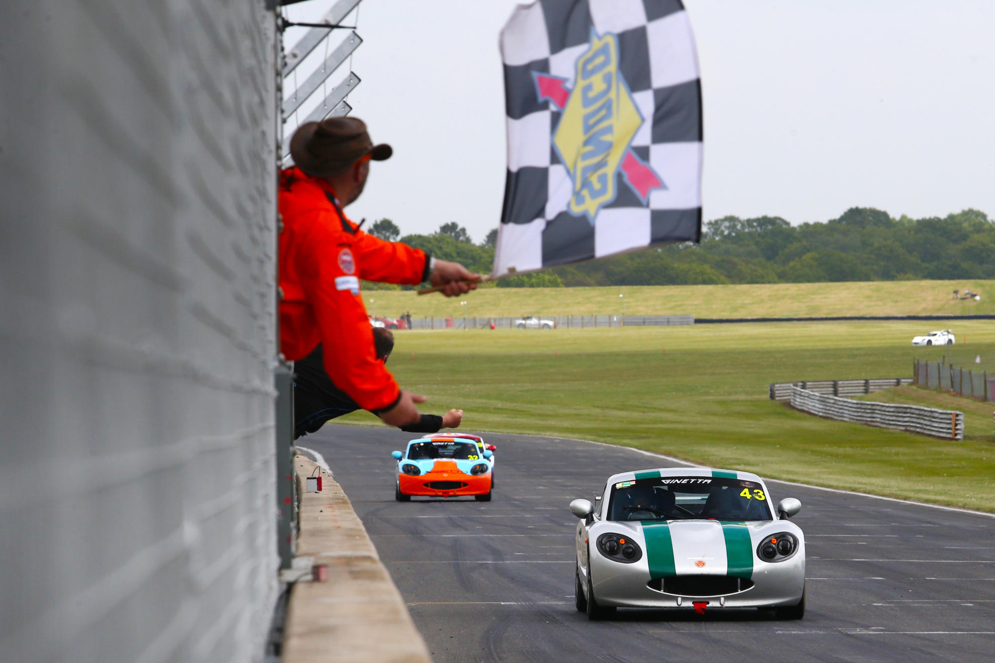 Mark Sansom Launches 2019 Ginetta Racing Drivers Club With Double Win