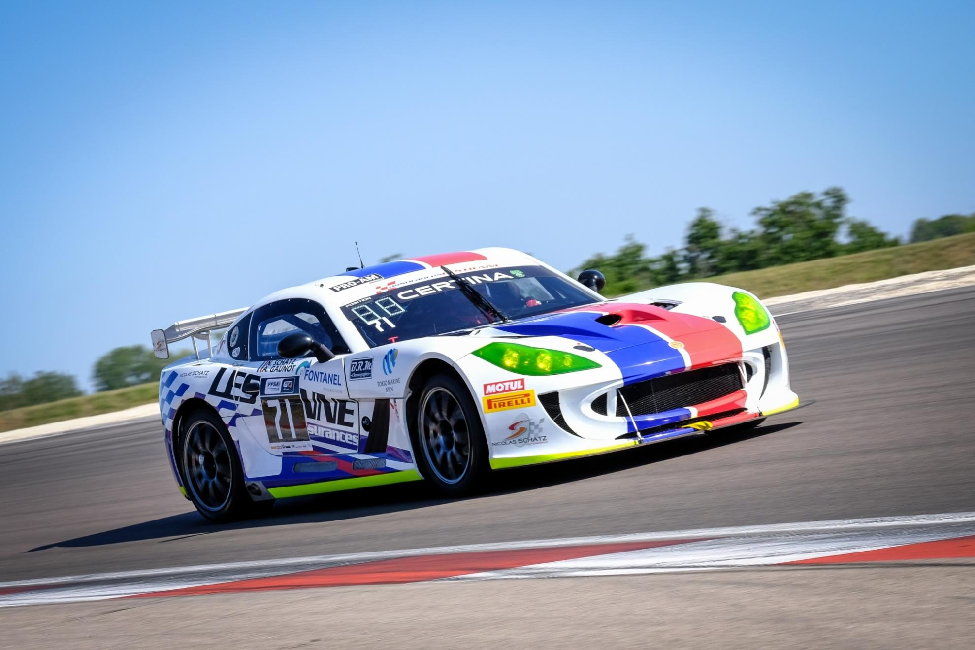 Ginetta Picks Up More Silverware In Dijon FFSA