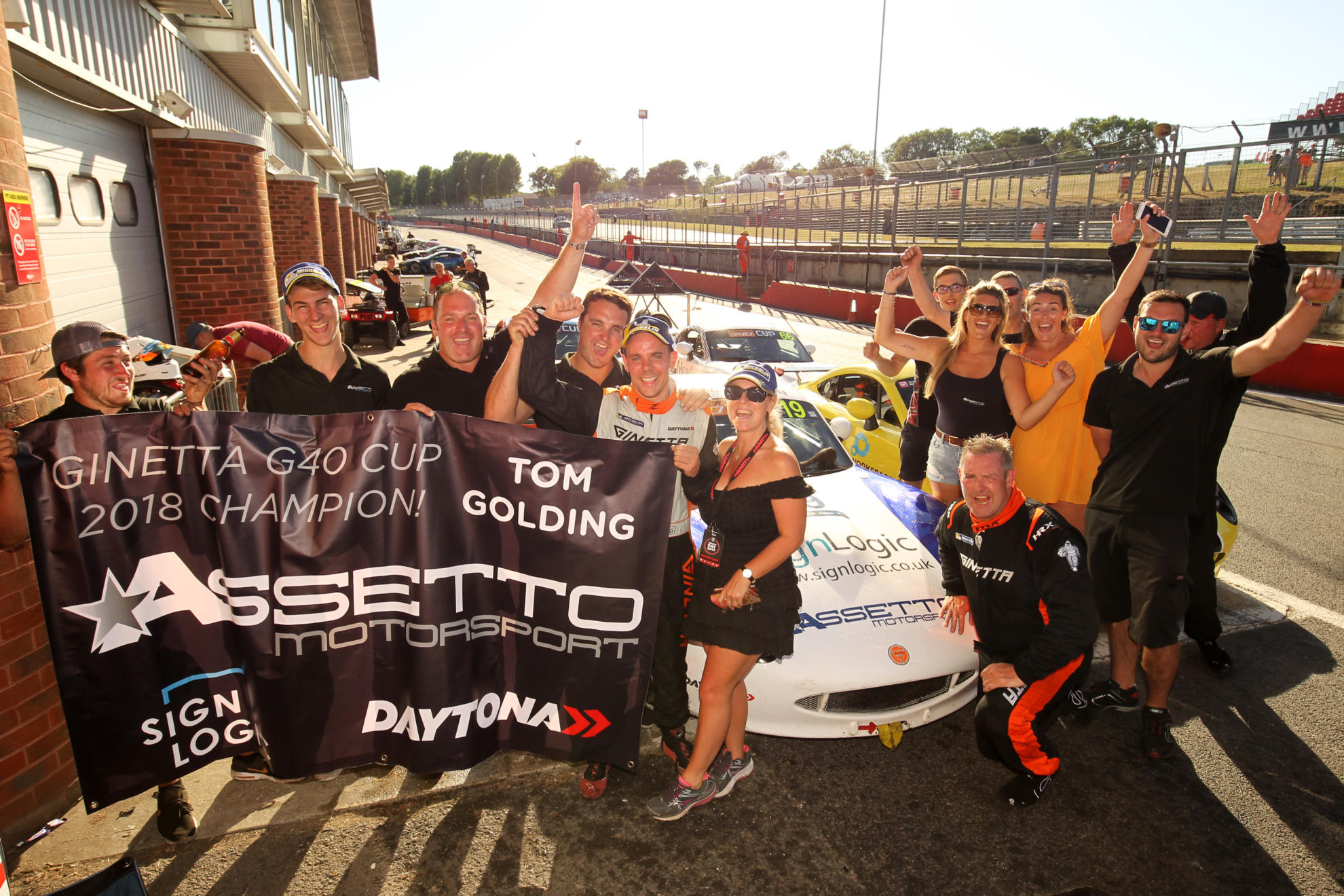 Golding Is G40 Champion As King Takes Two More Wins At Brands