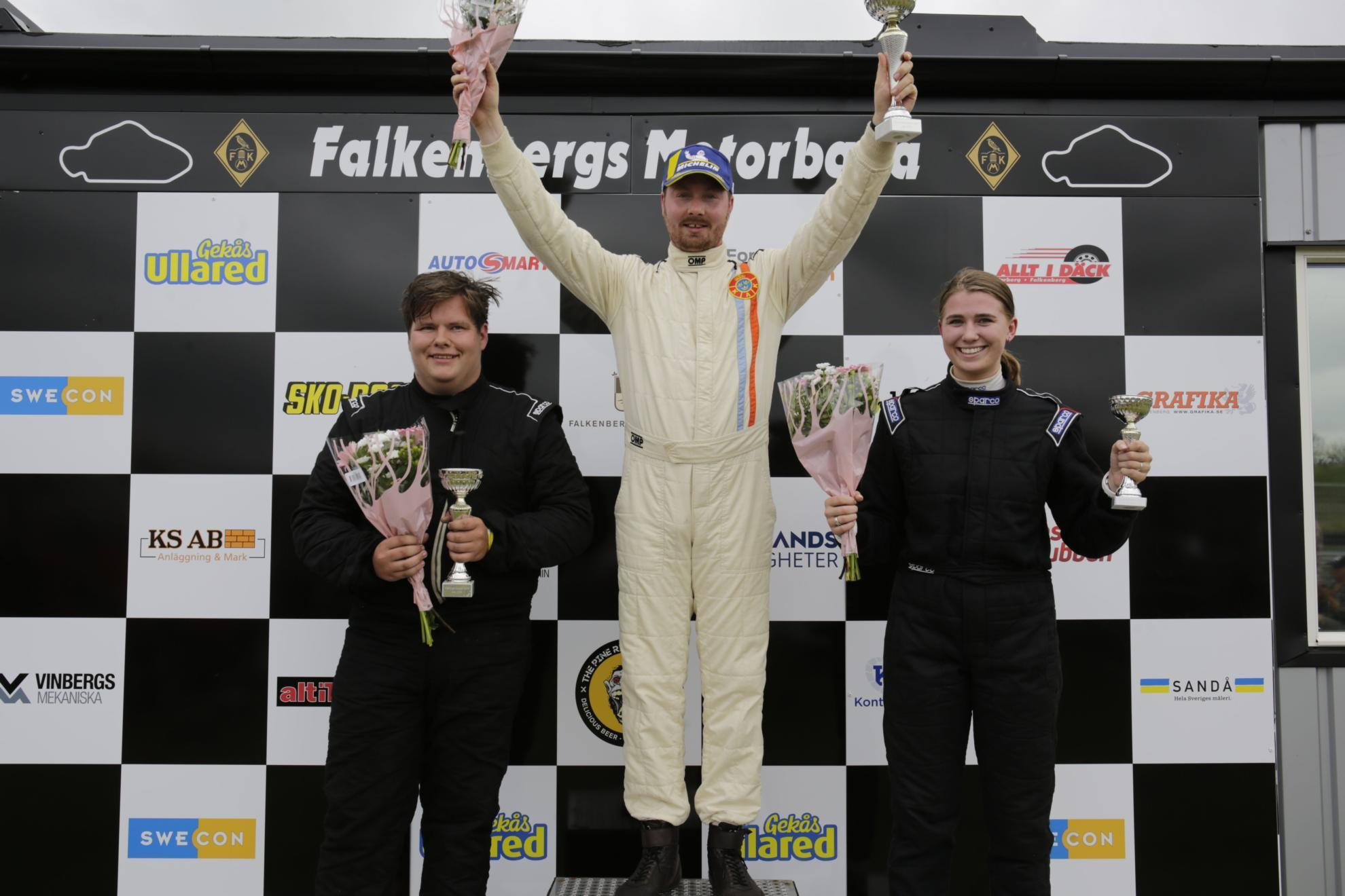 Hampus Rydman defends his Ginetta GT5 title