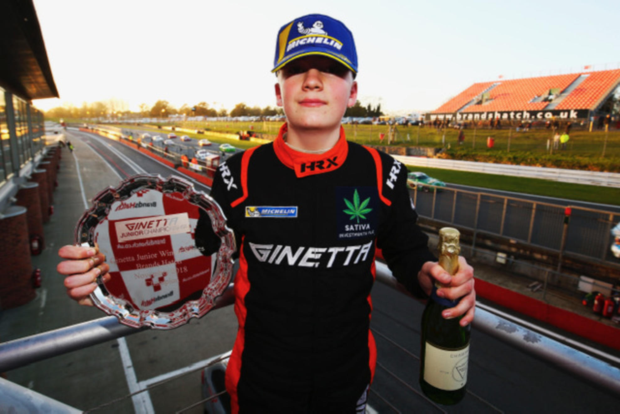 James Hedley Targets The Top In 2019 Michelin Ginetta Junior Championship
