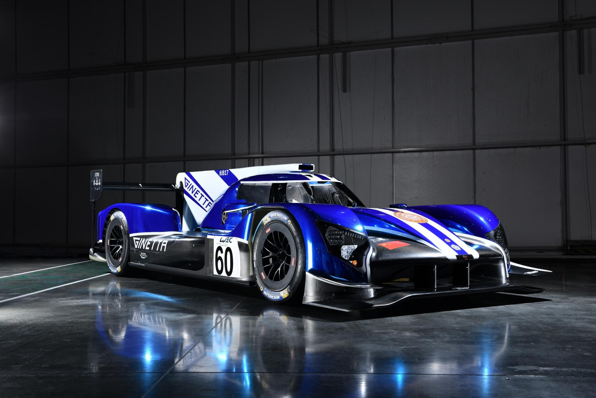 Two Ginetta G60-LT-P1's Set For FIA World Endurance Championship