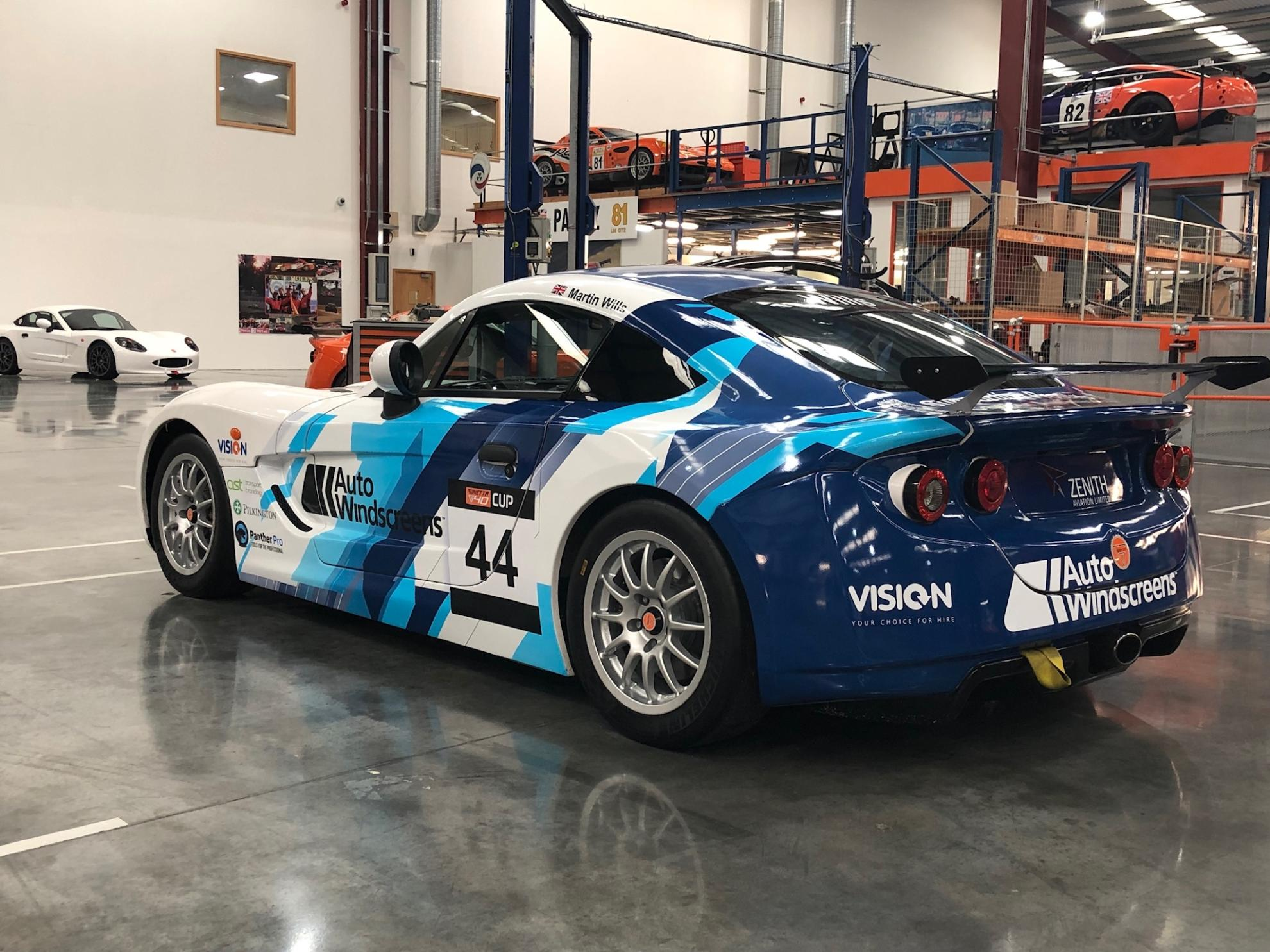 Martin Wills Makes Ginetta G40 Cup Debut With Assetto Motorsport