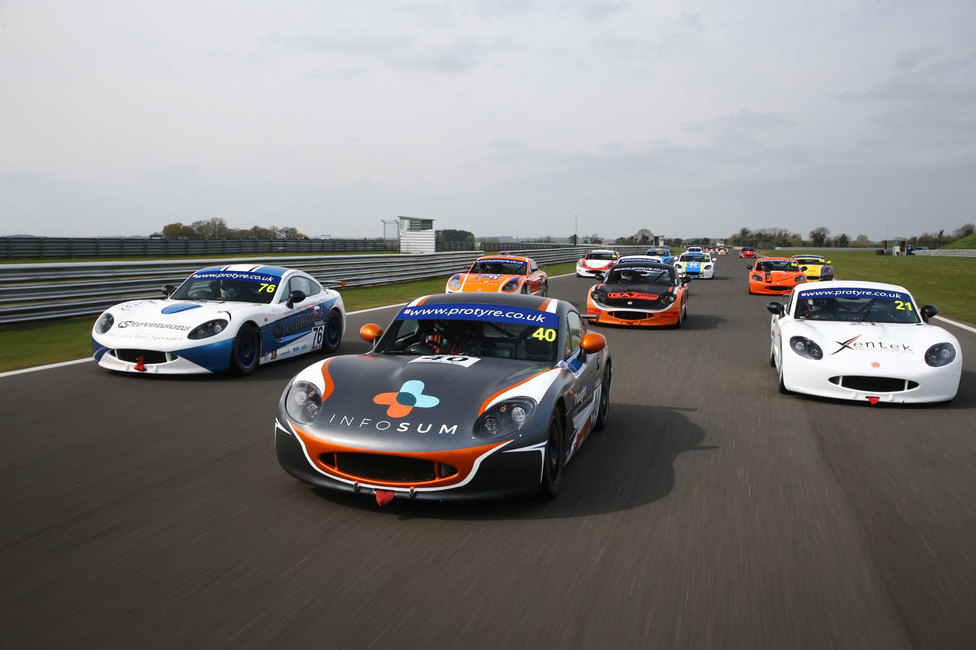 Preview: Protyre Motorsport Ginetta GT5 Challenge, Round One, Oulton Park