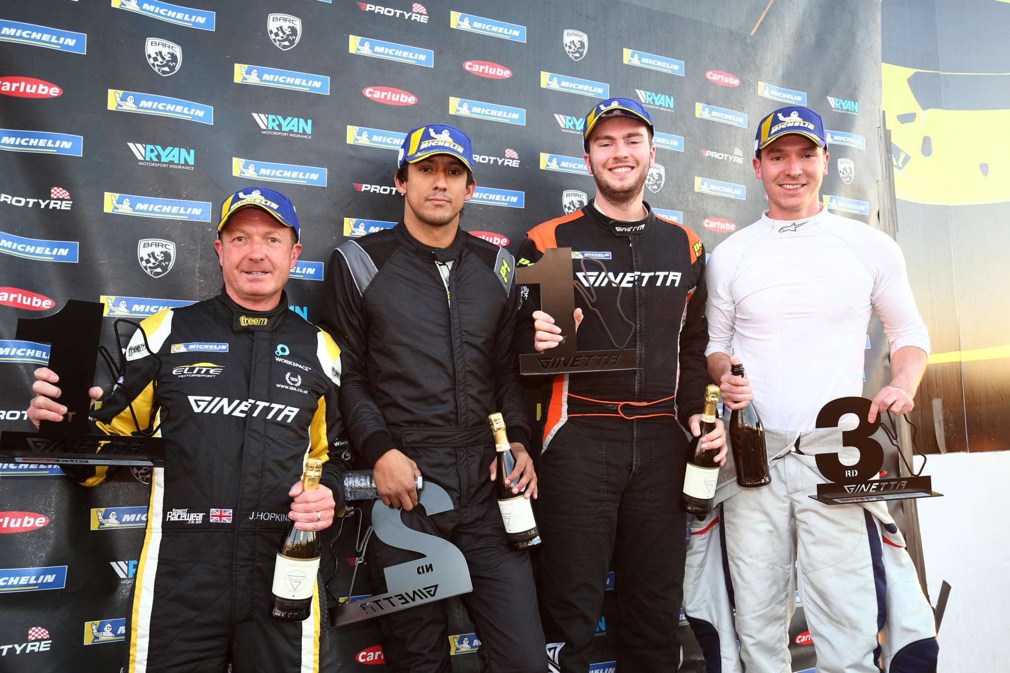 Barclay and Oliphant Win Final G40 Cup Races Of The Season