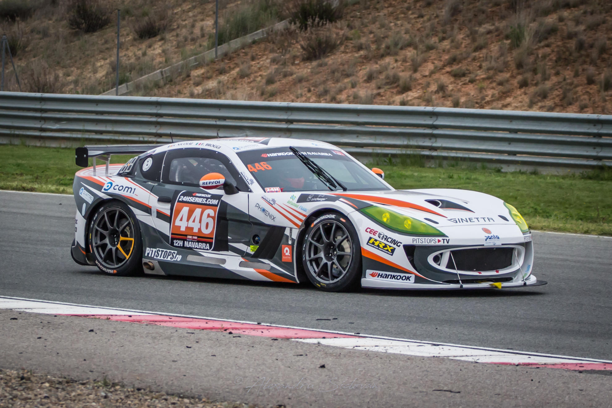 Ginetta Factory Driver Mike Simpson To Contest Barcelona 24hrs