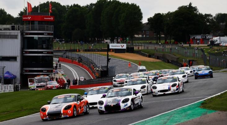 Ginetta G40 Cup Title Rivals Share Brands Hatch Wins