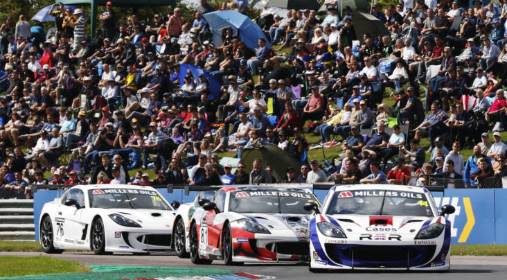 Thruxton Double Moves Burns Into GT4 SuperCup Points Lead