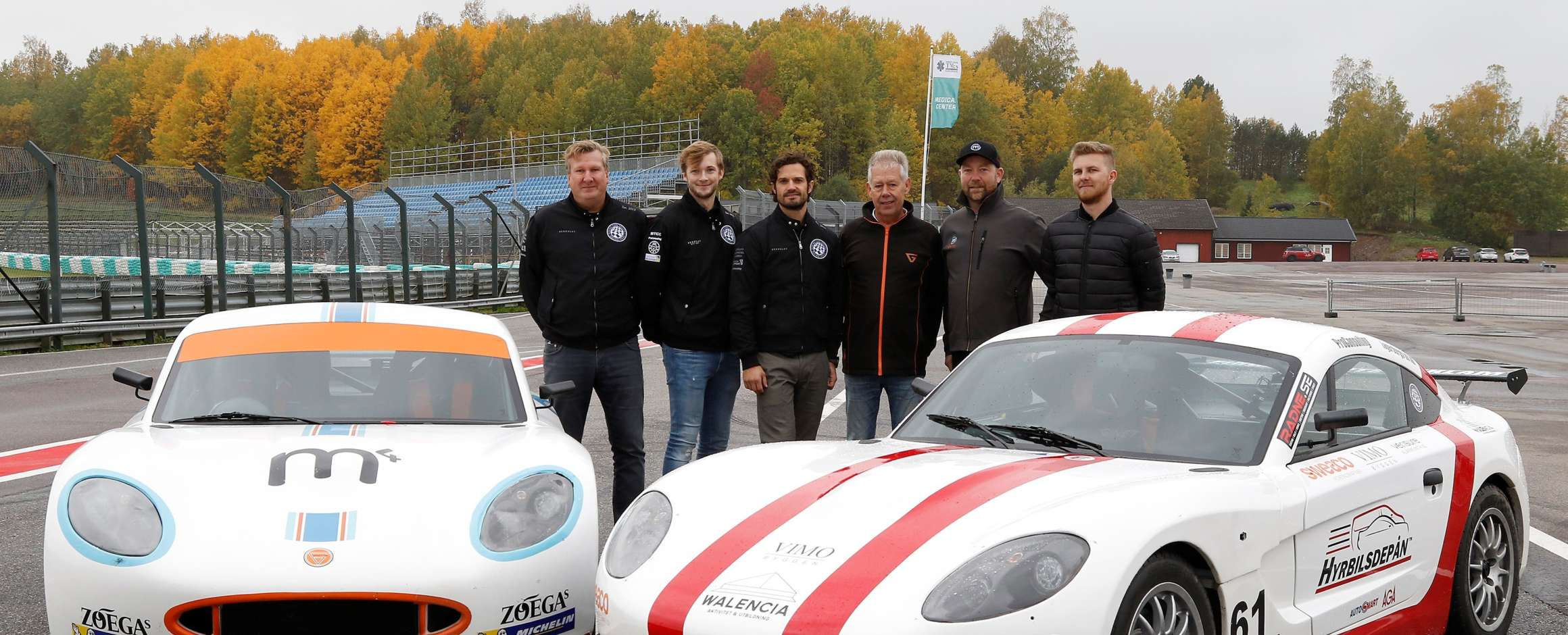 Ginetta sparkles like a jewel in the royal crown