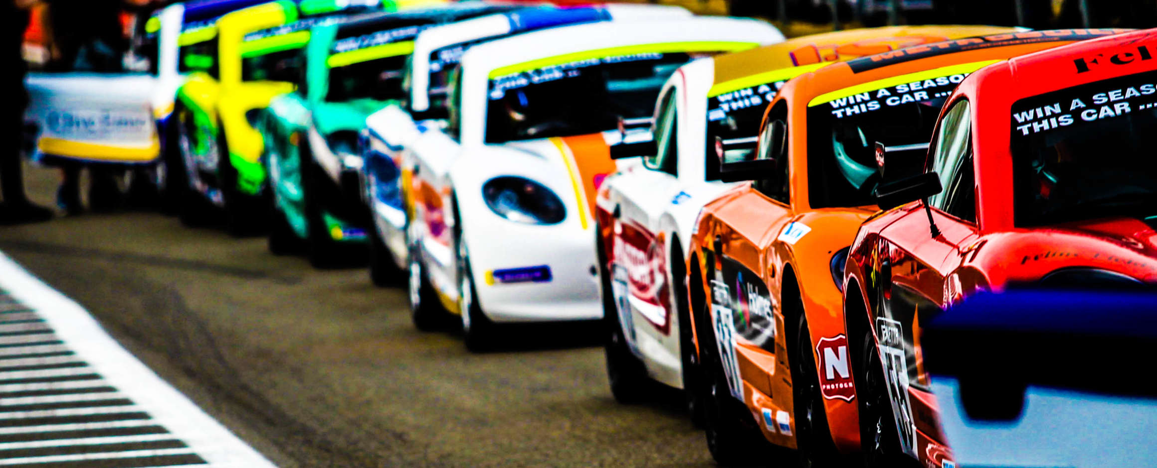 GINETTA JUNIOR WINTER SERIES FAST APPROACHES.