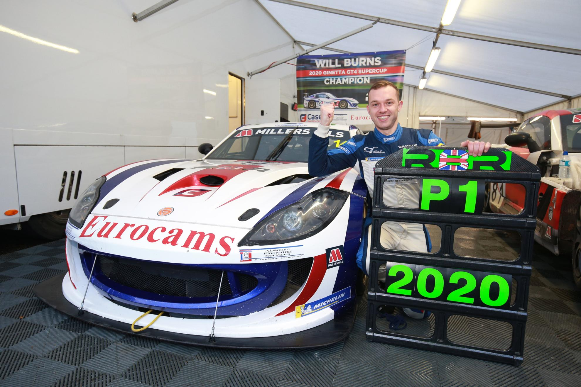 Ginetta Champion Will Burns Joins Assetto For British GT