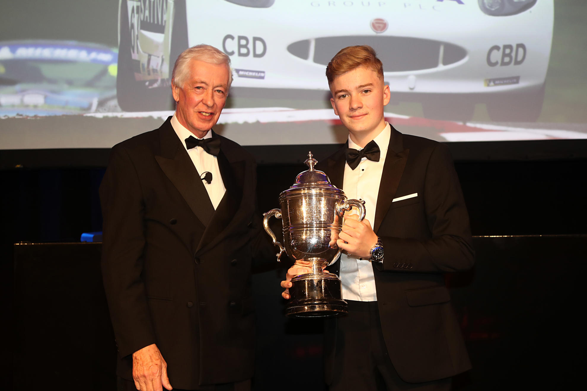 Junior Champion James Hedley Wins Prestigious BRDC Award
