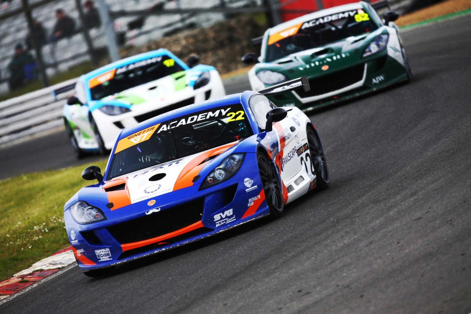 Ginetta GT Academy Launches With Toby Trice Treble