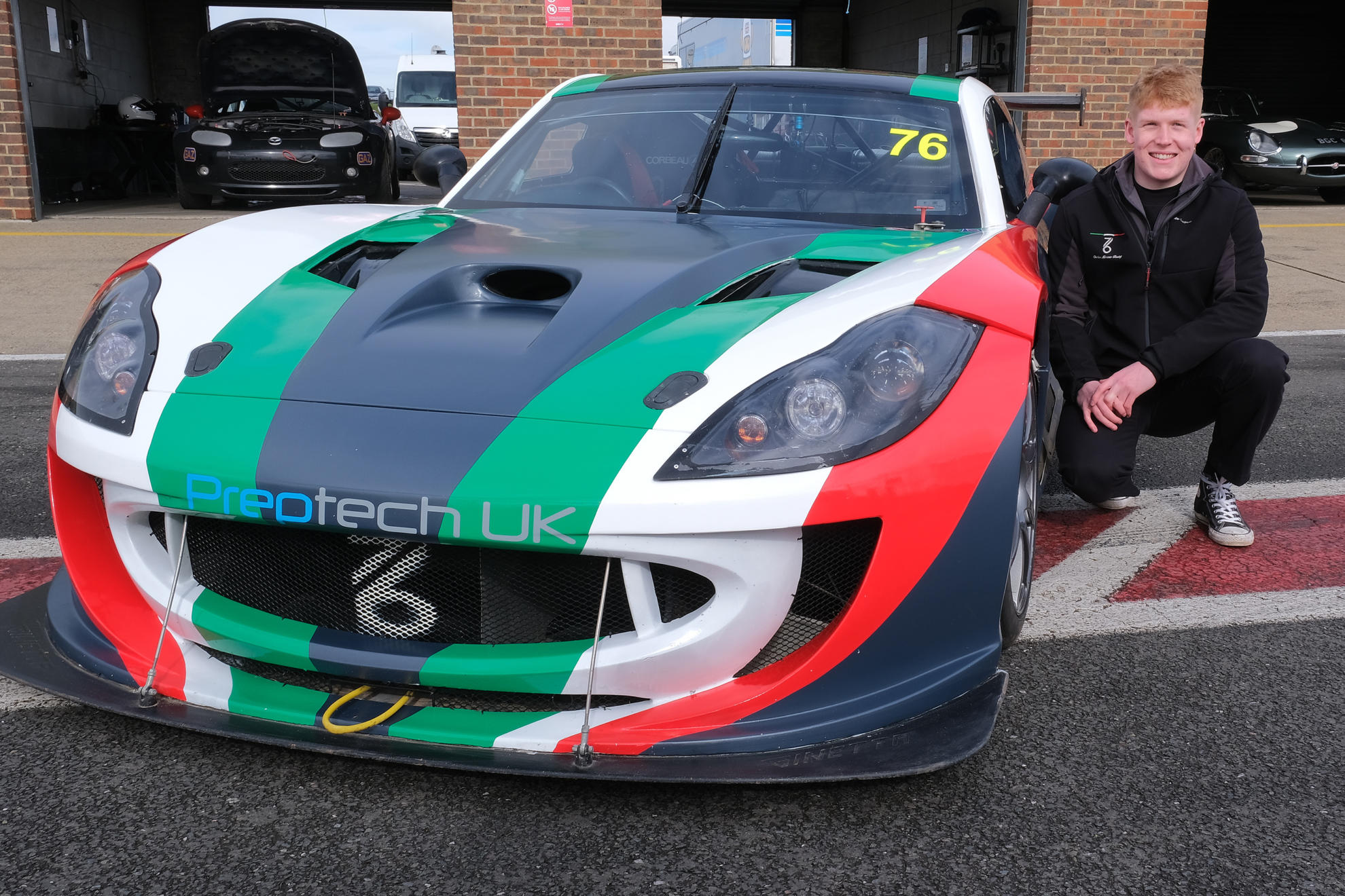 Miracco Teams With Preptech UK For Millers Oils Ginetta GT4 SuperCup Return