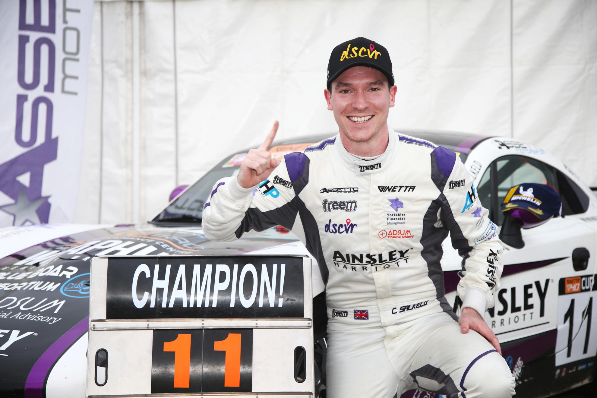 G40 Cup Champion Chris Salkeld Graduates To Millers Oils Ginetta GT4 SuperCup