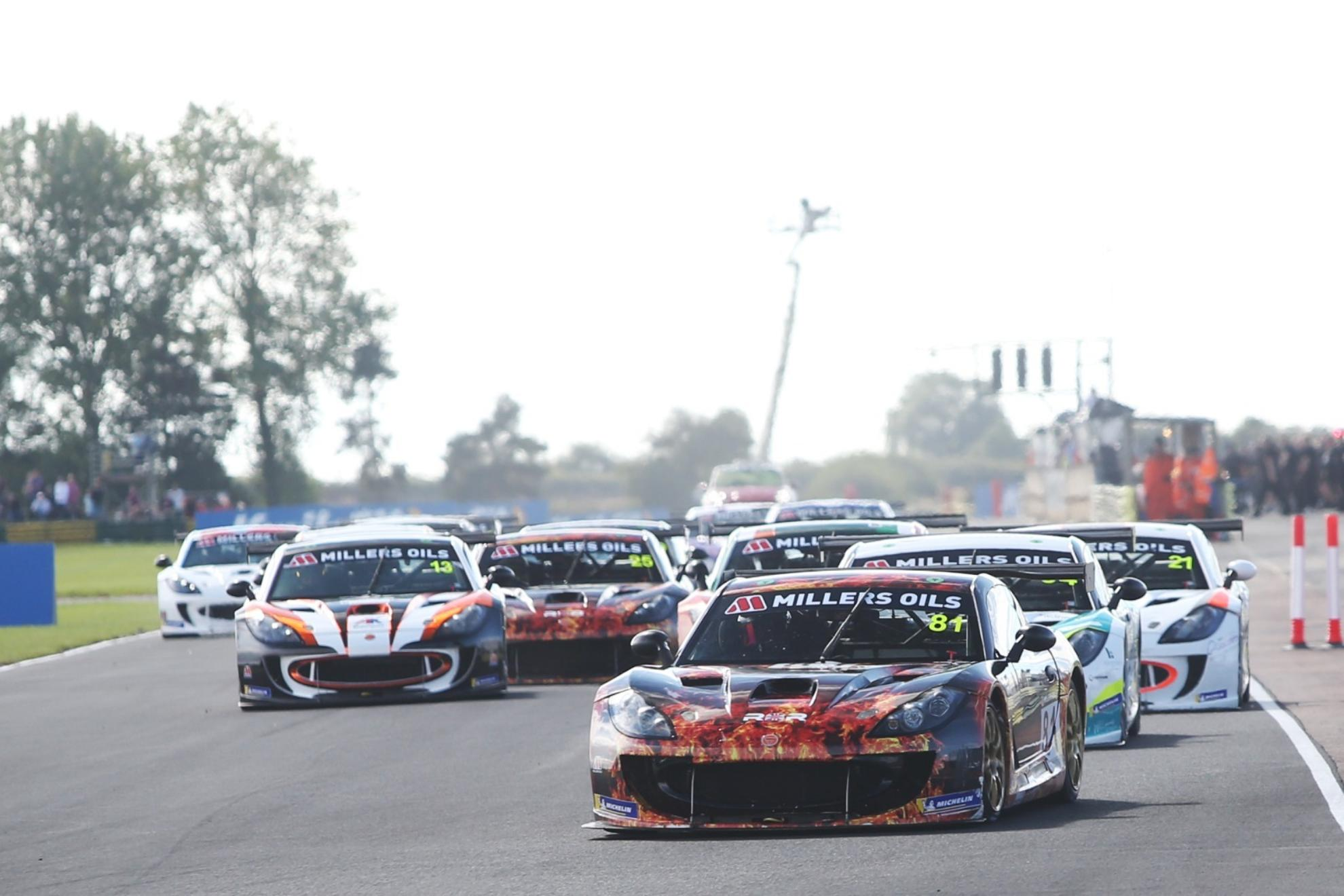 Hibbert Hits Back With Croft Double In Ginetta GT4 SuperCup