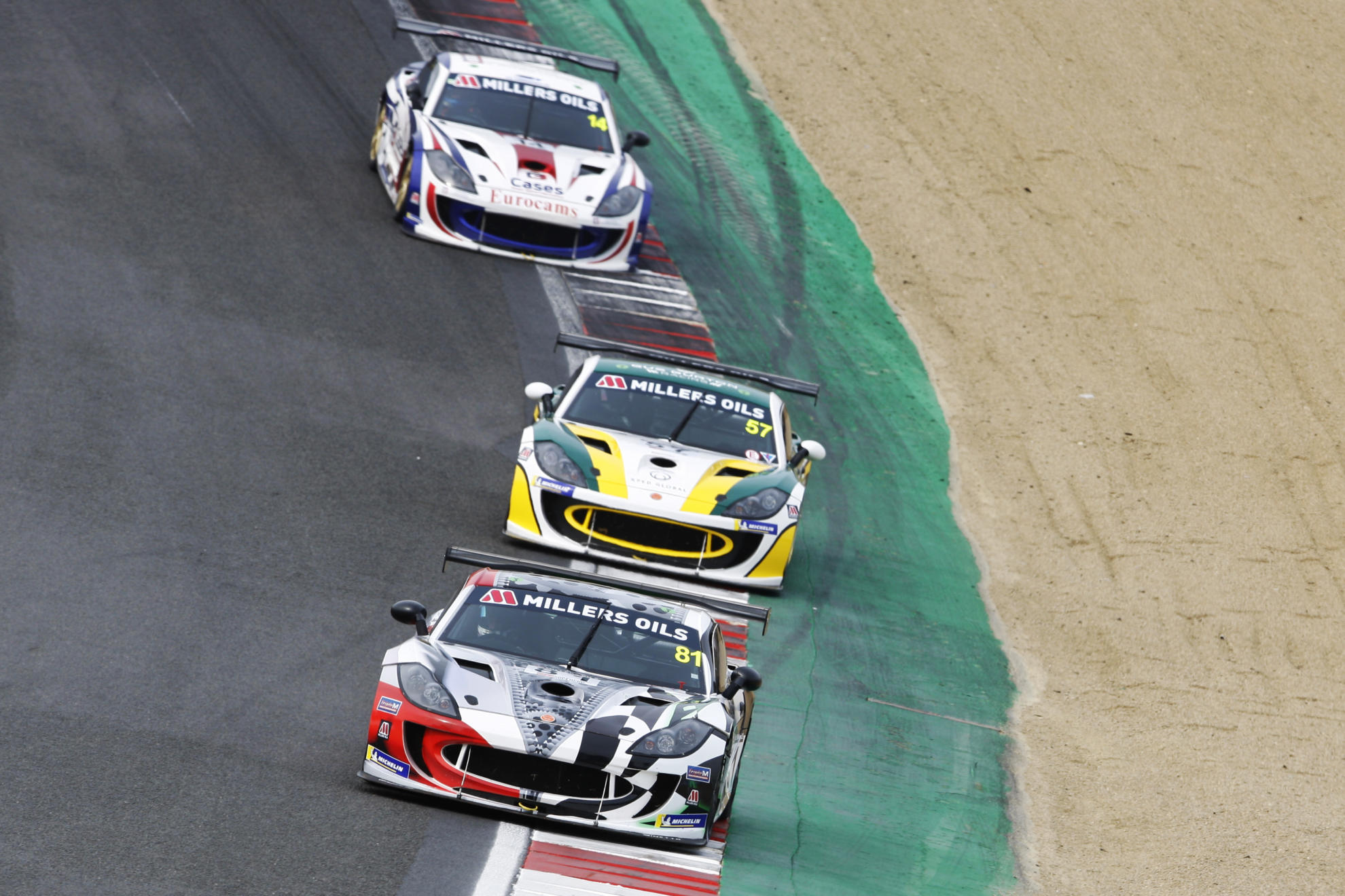 Tom Hibbert Stars With Double Ginetta GT4 SuperCup Win