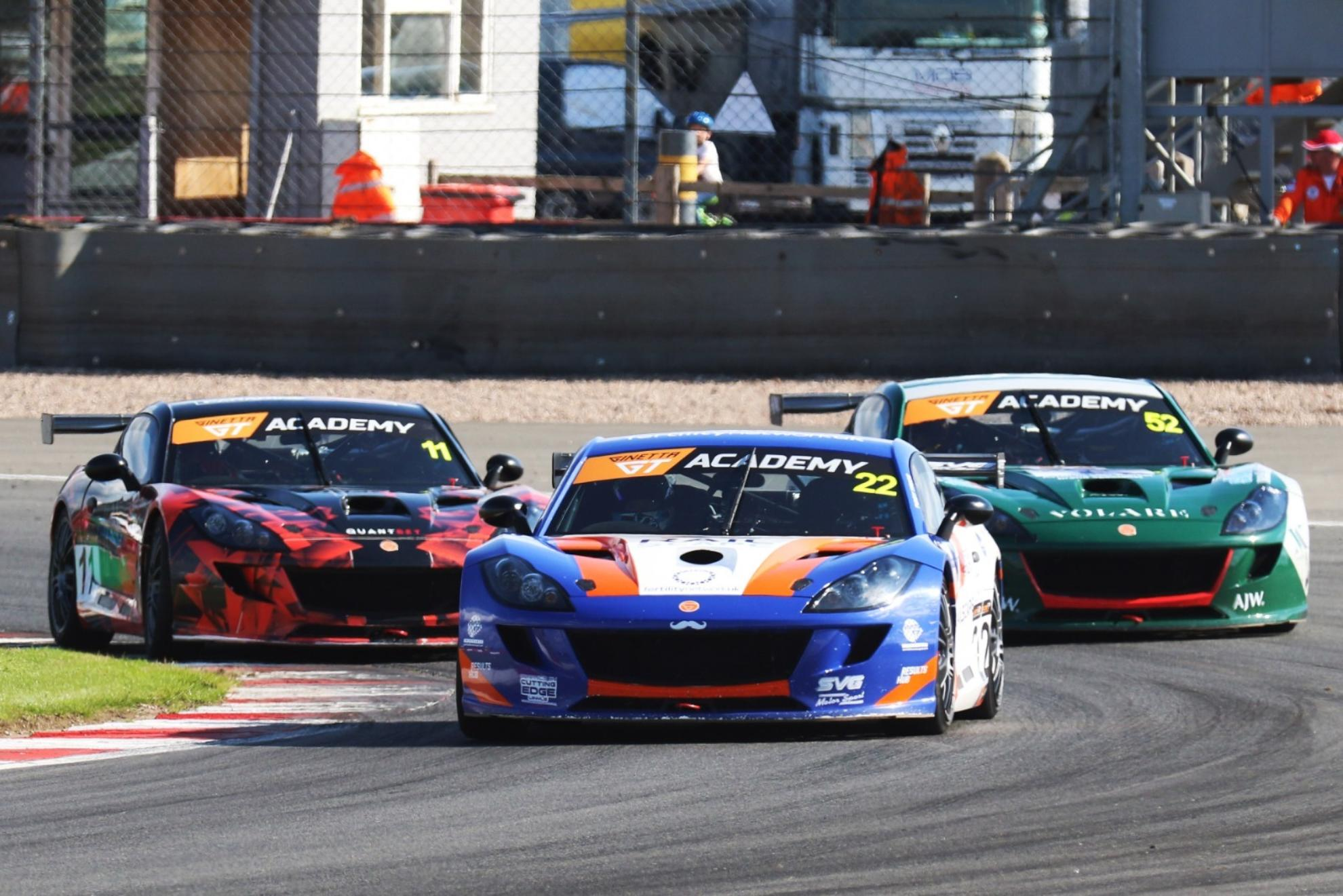 Trice Doubles Up In Ginetta GT Academy At Donington Park
