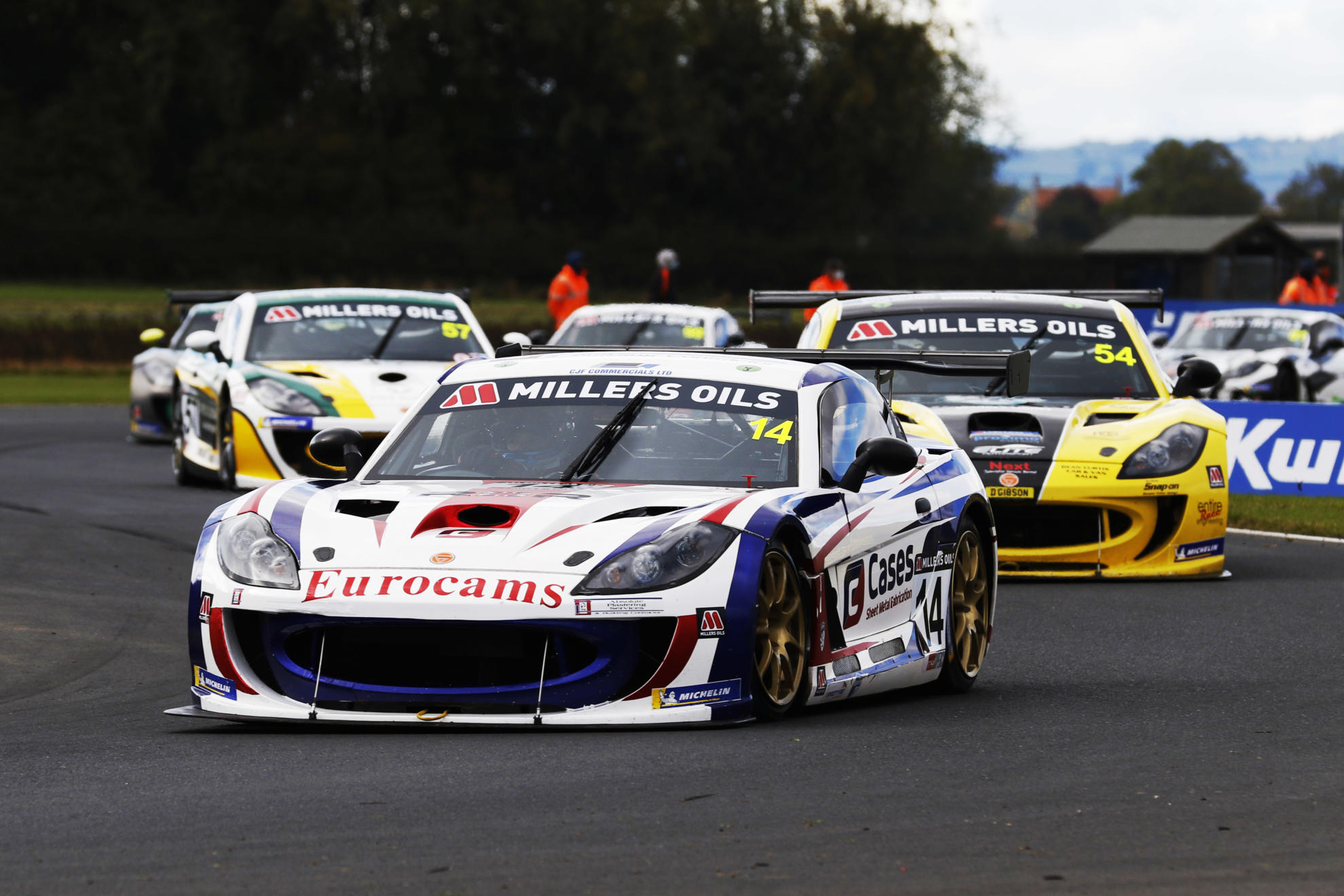 Preview: Ginetta GT4 SuperCup, Round Six, Snetterton