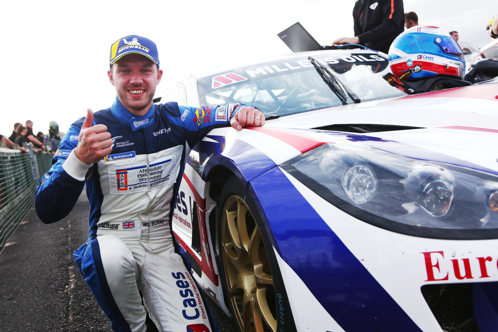 Will Burns Targets The Title In 2020 Millers Oils Ginetta GT4 SuperCup