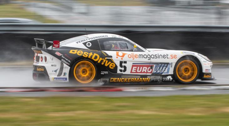 Double Victory For Ginetta G55 GT4s at Anderstorp