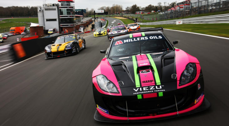 Millers Oils Ginetta GT4 SuperCup, Round One, Brands Hatch