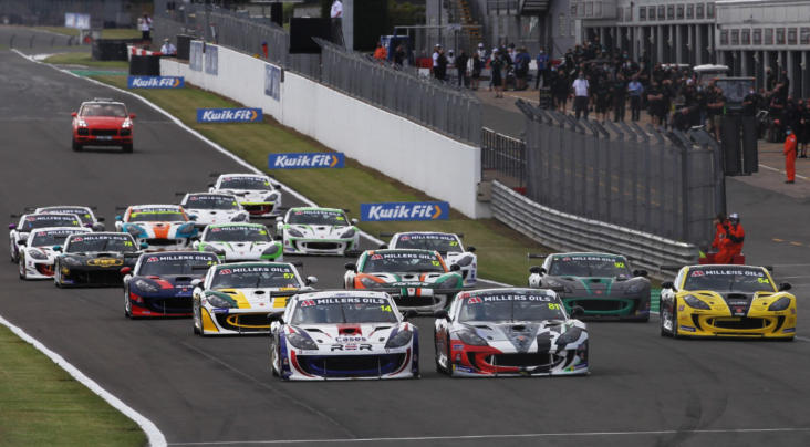 Burns And Burton Take Opening Ginetta GT4 SuperCup Wins