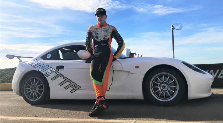 Frankie Taylor Signs Up For Rookie Michelin Ginetta Junior Championshi...