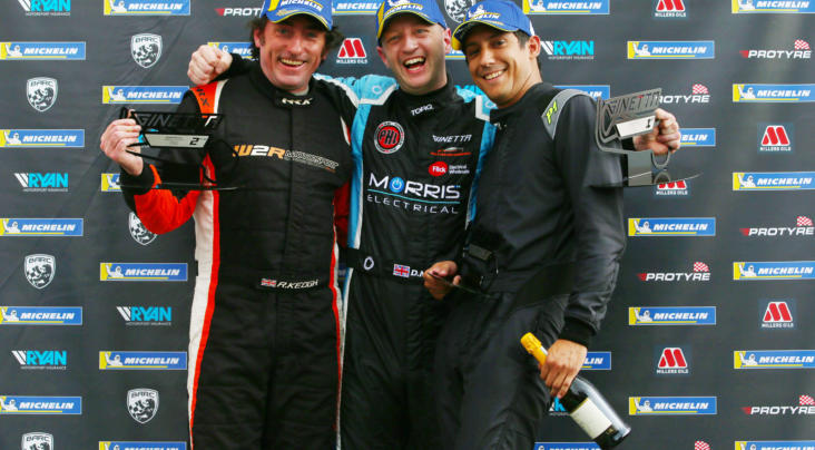 Three Winners From Three Races In Ginetta G40 Cup At Snetterton