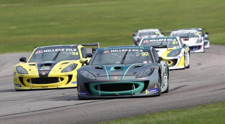 Falvey Stars At Thruxton With Maiden GT4 SuperCup Wins