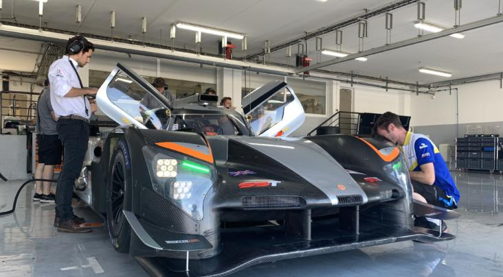 Ginetta's LMP1 Completes Further Successful Test with Team LNT