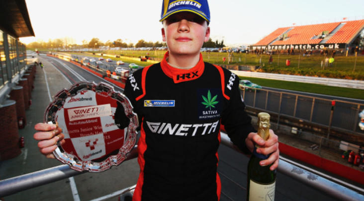 James Hedley Targets The Top In 2019 Michelin Ginetta Junior Champions...