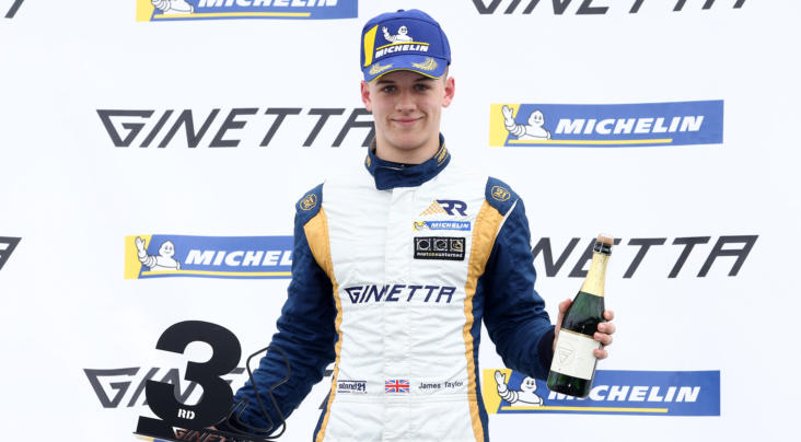 James Taylor Going For Glory In 2019 Michelin Ginetta Junior Champions...