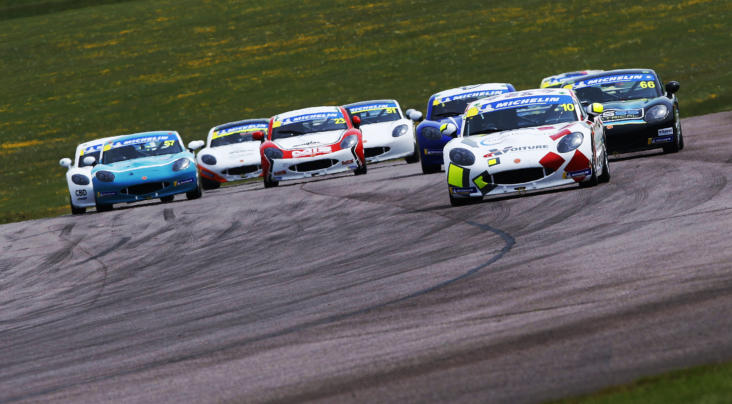 Michelin Ginetta Junior Championship Serves Up Thruxton Thrillers