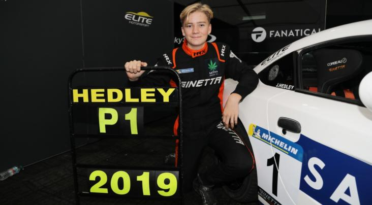 James Hedley Crowned 2019 Ginetta Junior Champion