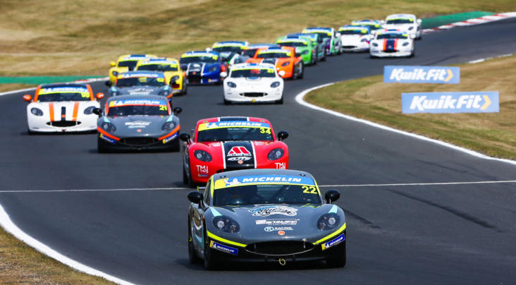 Voisin Moves To The Top With Brands Hatch Ginetta Junior Double