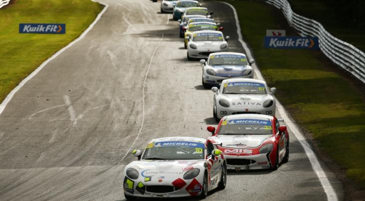 Martin Rules At Oulton Park With Double Michelin Ginetta Junior Champi...