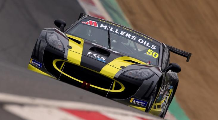 Heathcote Swaps Dirt For Tarmac In Millers Oils Ginetta GT4 SuperCup