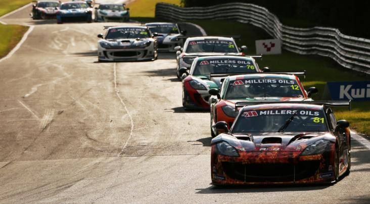Hibbert Does The Oulton Double In Ginetta GT4 SuperCup