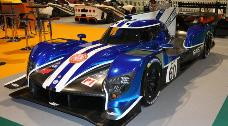 The Ginetta G60-LT-P1 Breaks Cover At Autosport International