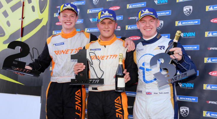 Bird And Kellett Share Sunday GT5 Spoils At Donington