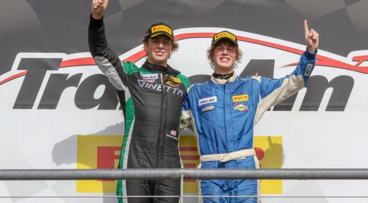 G55 GT4 SHINES IN COTA TRANS-AM