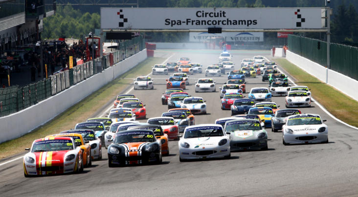 Winning Saturday At Spa For Stoney And Golding